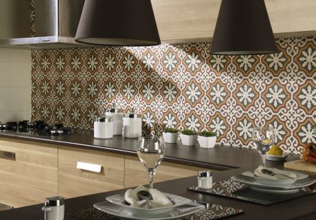 Azulejos de cocina crea distintos ambientes seg n el color - Catalogo de azulejos de cocina ...