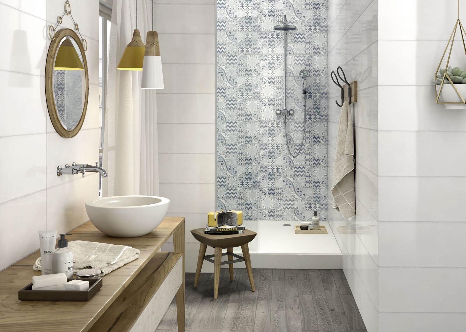 Qu azulejos elegir para el ba o molina caballero - Azulejos para ducha ...